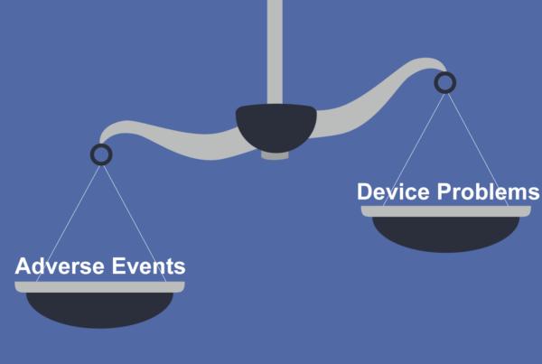 Comparison of adverse events vs device problems