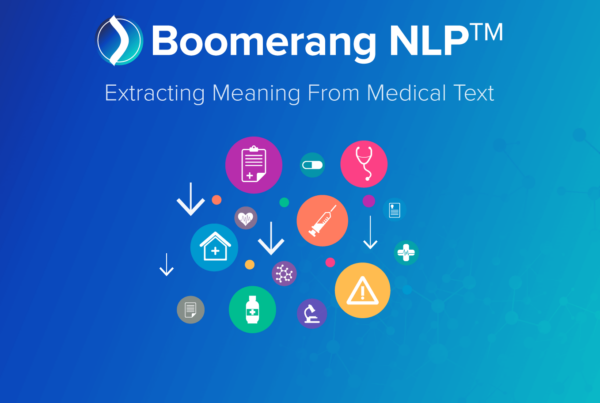 Boomerang NLP - extract meaning from medical text
